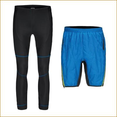 Aplit Tights u. Letten Thermo-Shorts Herren 2015/16 von GONSO