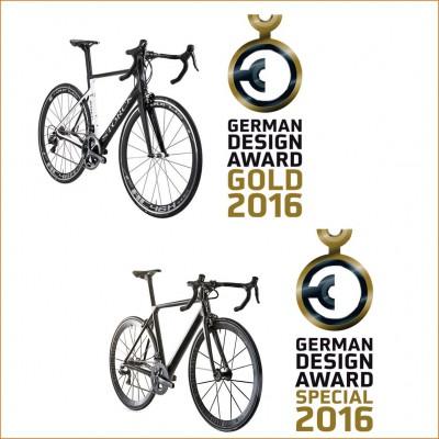 German Design Award 2016 fr Aerfast 20th Anni und Aernario Signature von Storck Bicycle