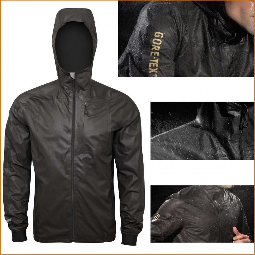 GORE-TEX Active Jacke mit Kapuze Herren schwarz 2015