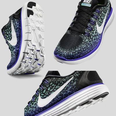 Nike Free RN Distance Laufschuh Damen sohle, vorne, seite 2015