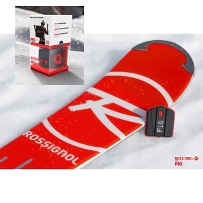 Rossignol and PIQ App/Sensor: Der PIQ-Sensor lsst sich samt Gurt auf alle Skischuhe aufschieben
