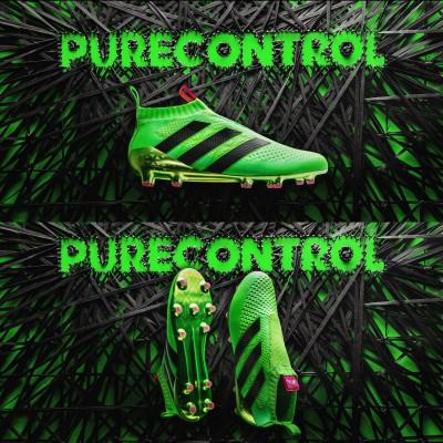 ACE 16+ Purecontrol Fuballschuh seite, sohle, oben 2016 von adidas