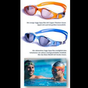Aqua-flex Schwimmbrille mit Overmold Technologie 2016 von Zoggs