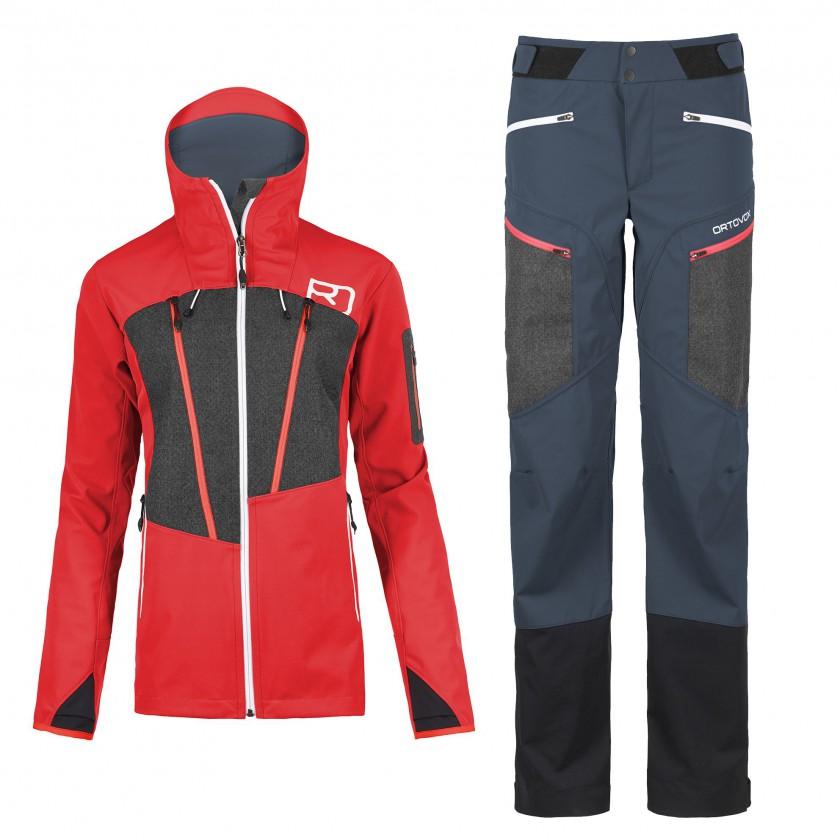 PORDOI Ski-Jacket und Pants mit c_change Membran 2016/17 von ORTOVOX