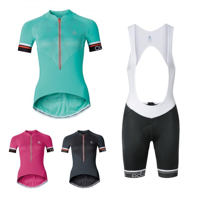 BREATHE Shirts u. FLASH X Bib-Tight Damen 2016 von ODLO