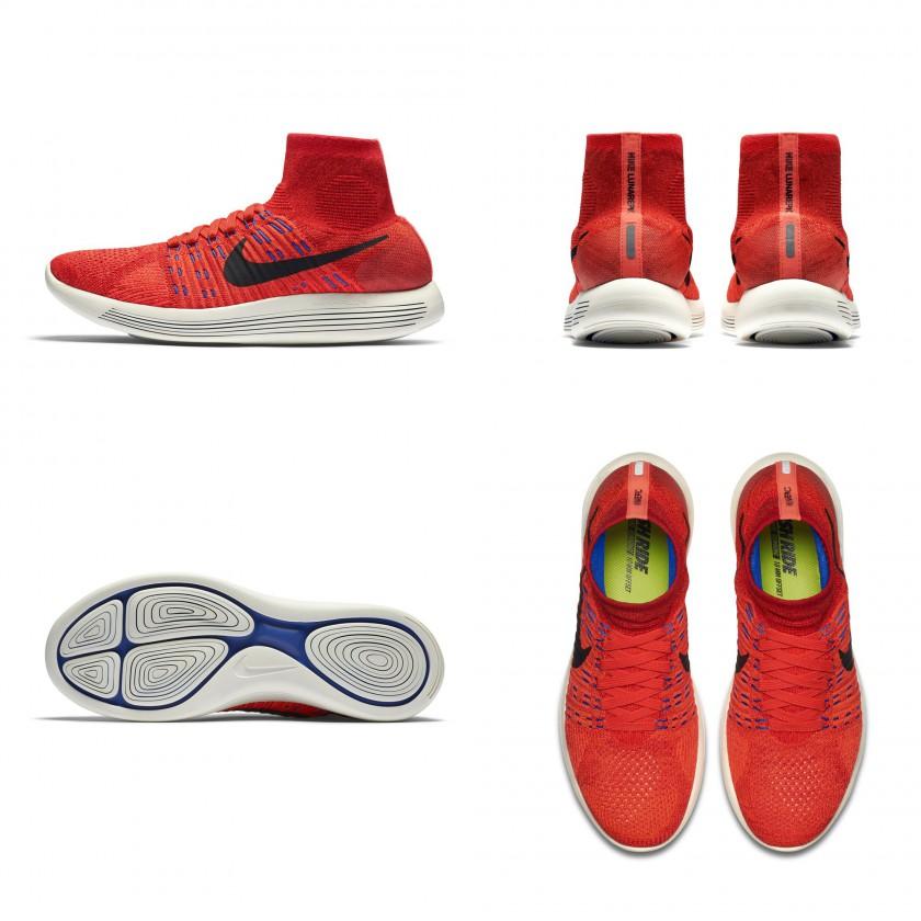 LunarEpic Flyknit Laufschuh - außen, hinten, sohle, oben 2016 von Nike