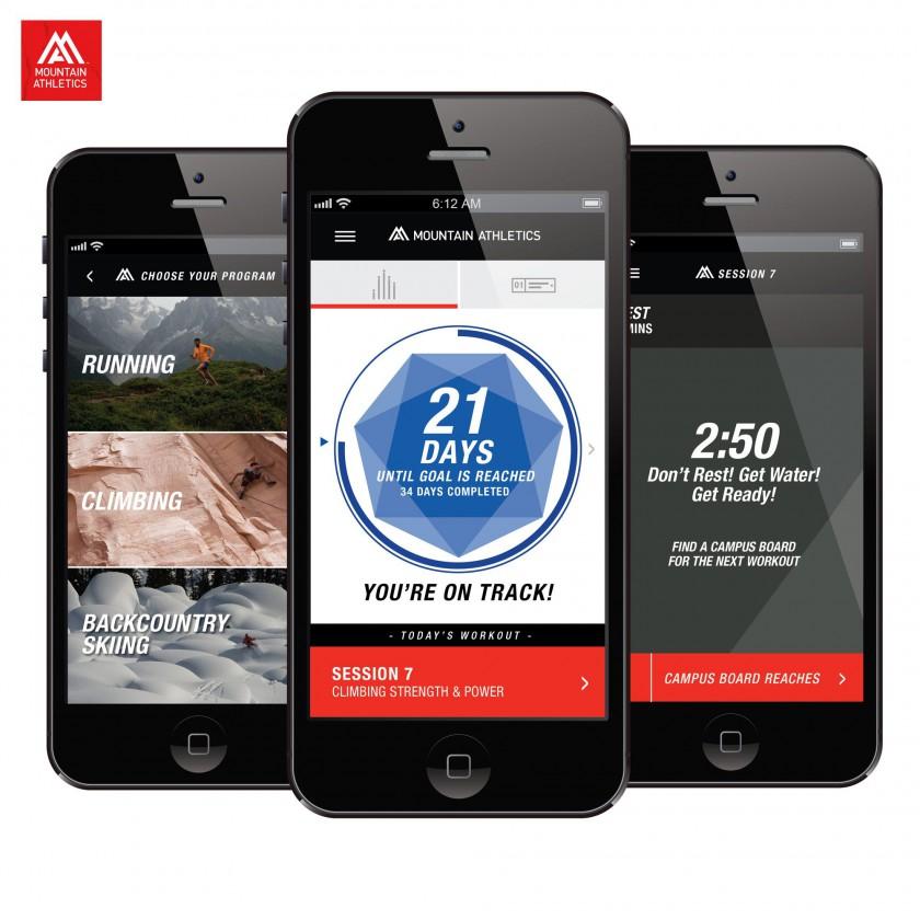 Mountain Atheltics App 2016 von The North Face