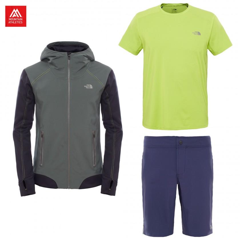 Kilowatt Jacket, Kilowatt S/S Crew Shirt u. Kilowatt Short Herren 2016 von The North Face