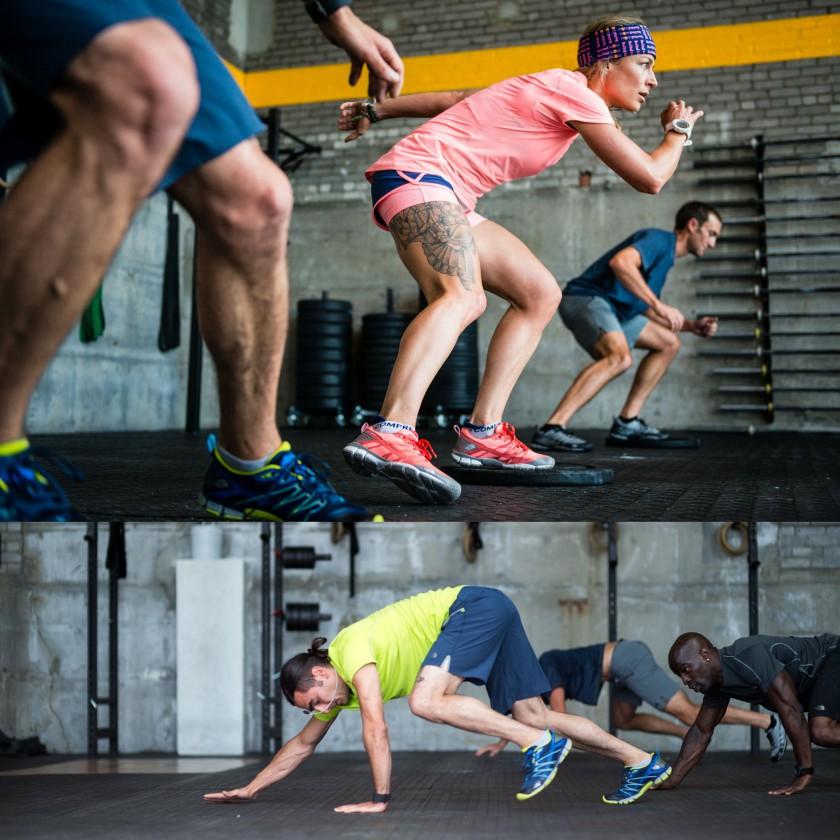 Mountain Athletics Kollektion Damen u. Herren - Trainings-Action 2016 von The North Face
