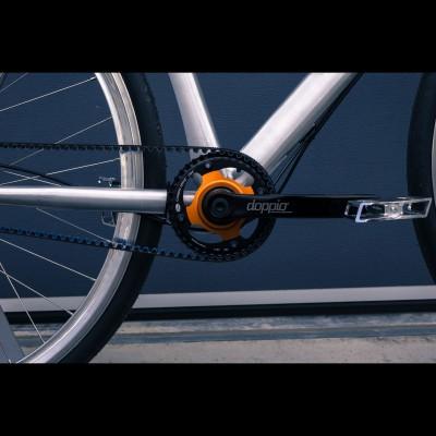 Doppio CX Getriebeschaltung am Fahrrad montiert 2016 von Kappstein