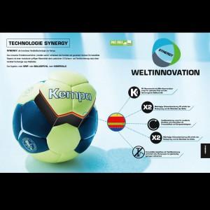 Synergy Handball-Technologie - Details 2016 von KEMPA