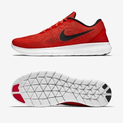 Nike Free RN Laufschuhe Herren seite, sohle 2016