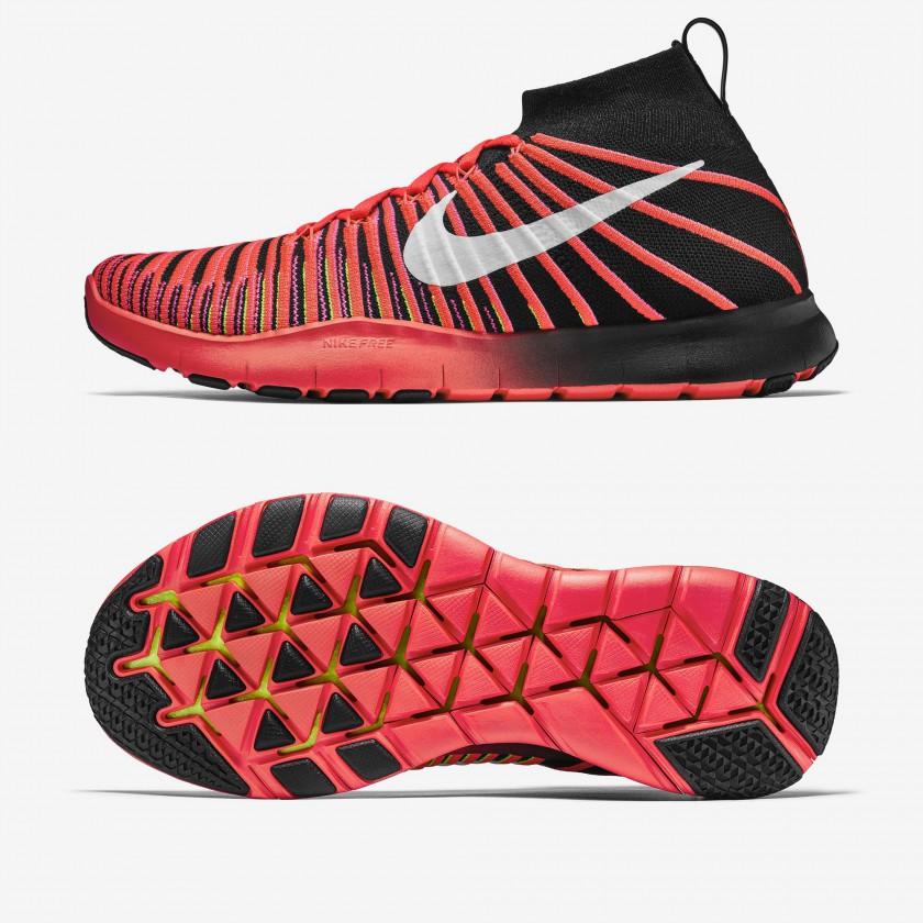 Nike Free Train Force Flyknit Fitnessschuhe Herren seite, sohle 2016