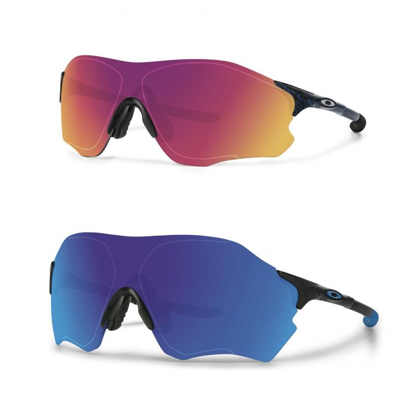 EVZero Path oben u. EVZero Range unten Sportbrillen 2016 von Oakley