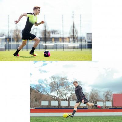 Marco Reus u. Antoine Griezmann im evoSPEED SL Tricks Fuballschuh 2016 von PUMA