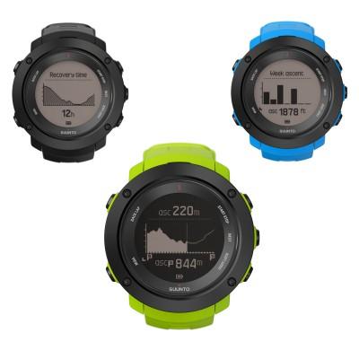 Ambit3 Vertical GPS-Multisportuhr black, lime, blue 2016 von SUUNTO