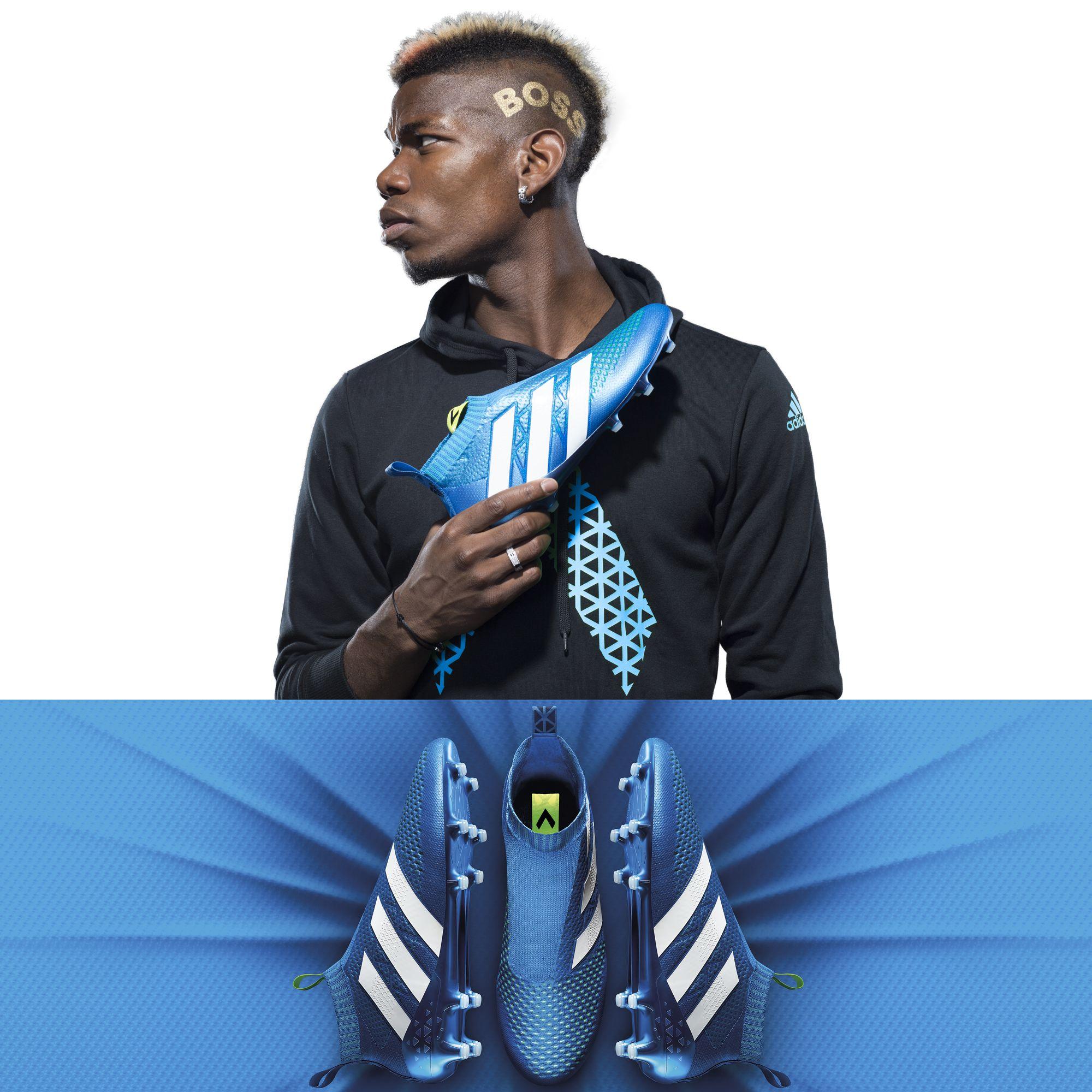 Bild Paul Pogba Mit Seinem Ace 16 Purecontrol Fussballschuh