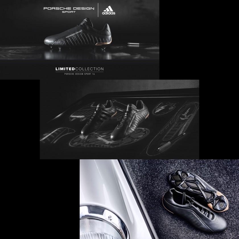 Porsche Design Sport 16 FG-AG / PDS X Football Fußballschuhe seiten, sohle 2016