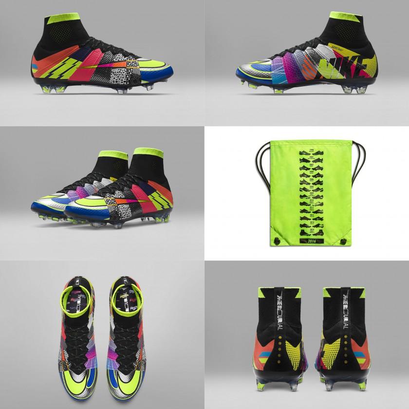 Mercurial Superfly IV What the Mercurial außen, innen, Bag, oben, hinten 2016 von Nike