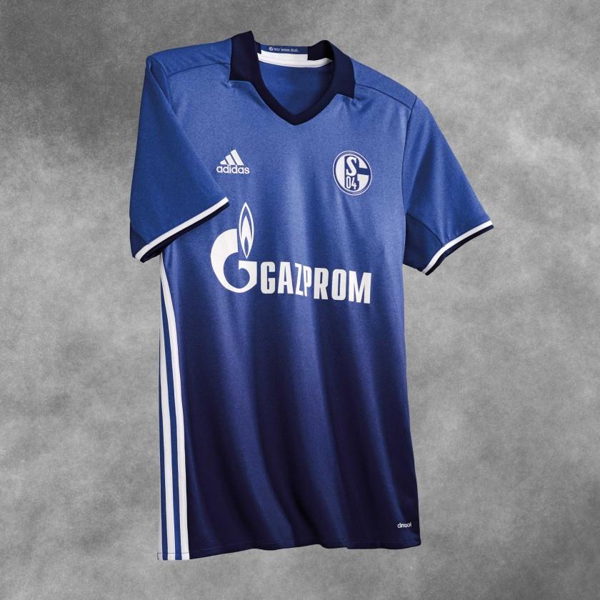 FC Schalke 04 Heimtrikot vorne 2016/17 von adidas
