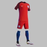 England Auswrtstrikot, Shorts u. Stutzen fr die EM 2016 von Nike