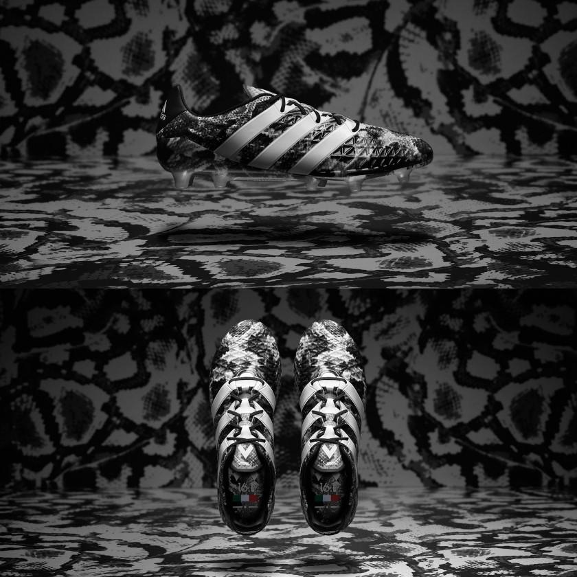 ACE 16.1 The Deadly Focus Pack Fußballschuhe seite, oben 2016 von adidas
