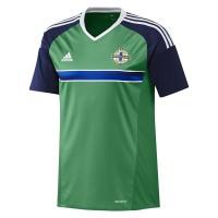 Nordirland Heimtrikot fr die EM 2016 von adidas