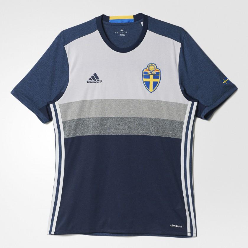 Schweden Auswärtstrikot für die EM 2016 von adidas