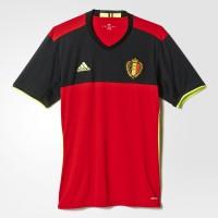 Belgien Heimtrikot fr die EM 2016 von adidas