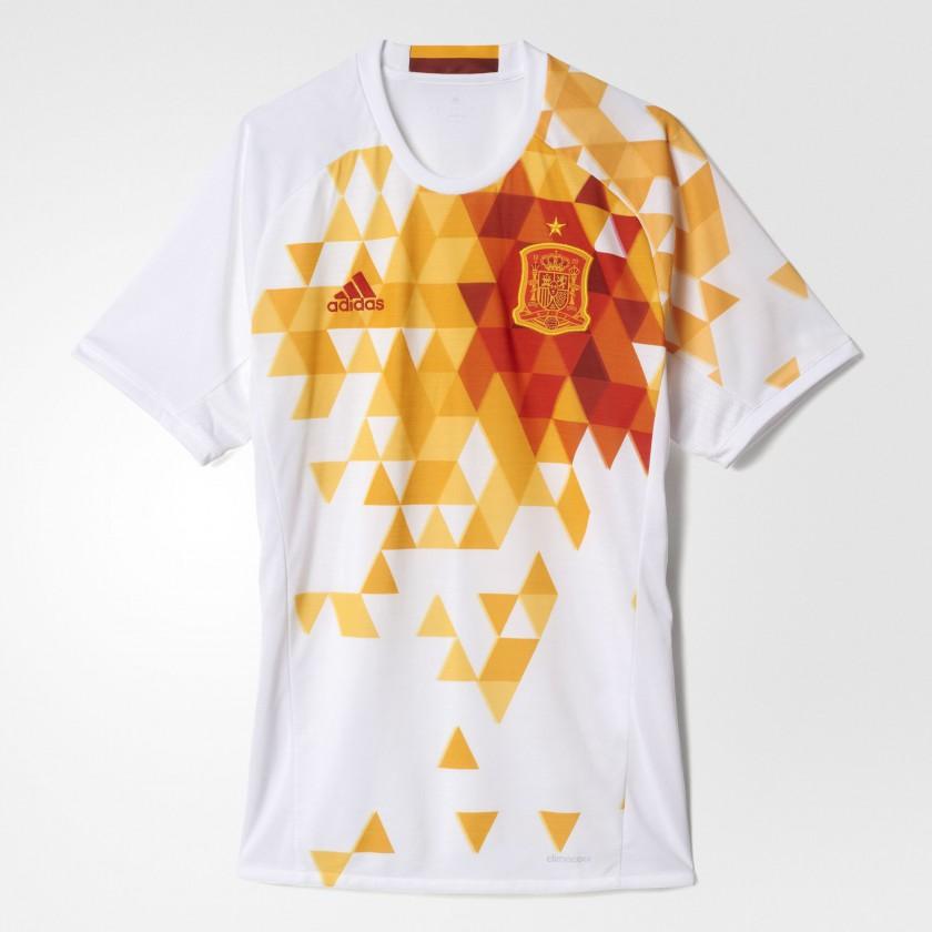 Spanien Auswärtstrikot für die EM 2016 von adidas