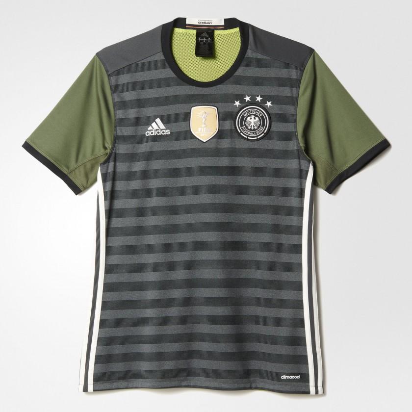 Deutschland Auswrtstrikot fr die EM 2016 von adidas