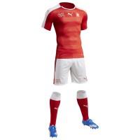 Schweiz Heimtrikot, Shorts u. Stutzen fr die EM 2016 von Puma