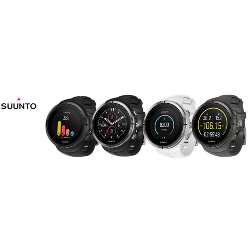 Spartan Ultra GPS-Multisportuhr All Black Titanium, Stealth Titanium, Weiß und Schwarz 2016 von SUUNTO