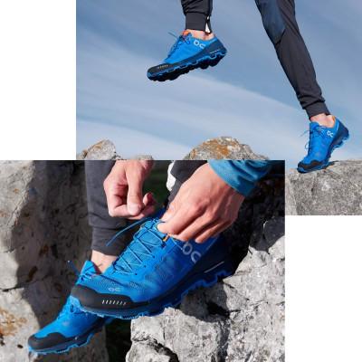 Cloudventure Trailrunning Schuhe - Traillauf Action 2016 von On