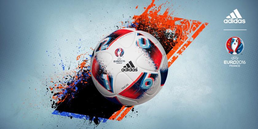 Fracas Spielball für die K.O.-Runde der UEFA EURO 2016 von adidas