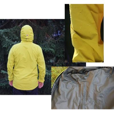 Light Speed Hydroshell Jacke - hinten, Wasserperlen, innen 2016 von Berghaus