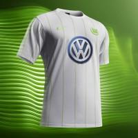 VfL Wolfsburg Auswrts-Trikot 2016/17 von Nike