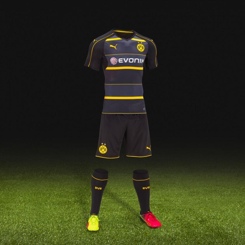 Borussia Dortmund Auswrts-Trikot /-Outfit 2016/17 von Puma