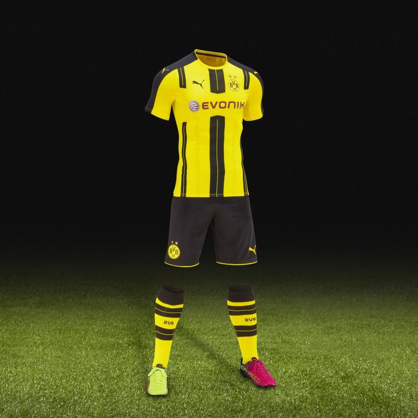 Borussia Dortmund Heim-Trikot /-Outfit 2016/17 von Nike