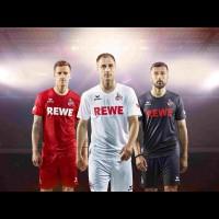 1. FC Kln Heim-, Auswrts- und Ausweich-Trikot 2016/17 von Erima