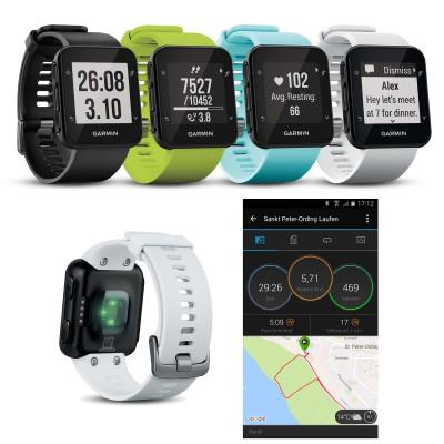 Forerunner 35 GPS-Laufuhr mit Herzfrequenzmessung am Handgelenk 2016 von Garmin