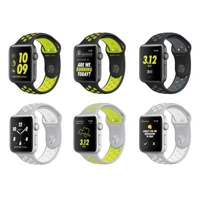 Apple Watch Nike+ GPS-Sportuhr diverse Ansichten 2016 von Nike