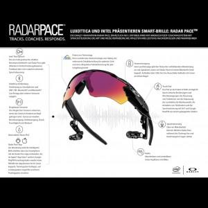 Radar Pace Smart-Brille - Technische Details 2016 von Oakley