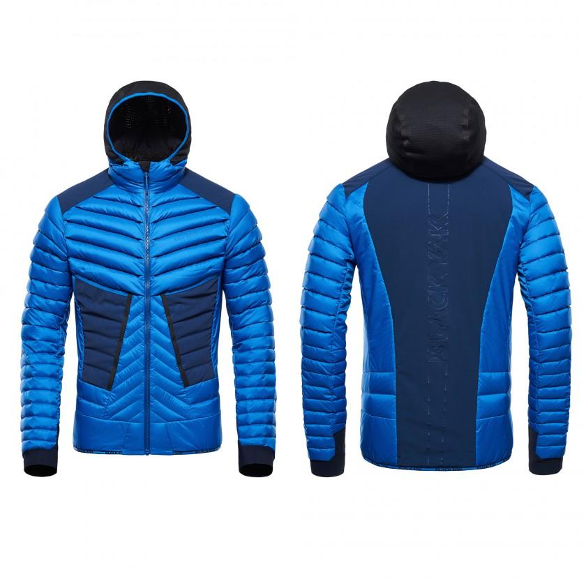 Hybrid Jacket Herren strong-blue vorne/hinten 2016/17 von BLACKYAK