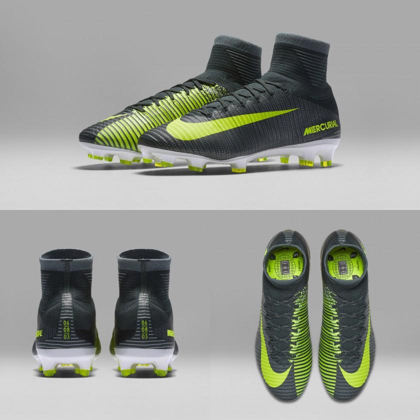 Cristiano Ronaldos Mercurial Superfly V CR7 Fußballschuhe - Chapter 3: Discovery 2016 von Nike