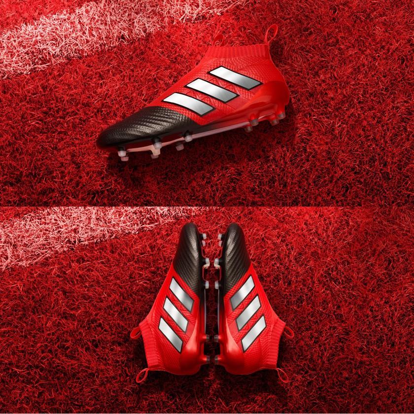 Bild: ACE 17+ PURECONTROL Fußballschuhe Stadion Version Red
