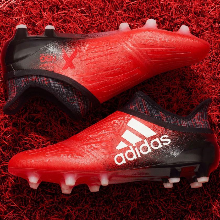 X16 Fußballschuhe Red-Limited Edition 2016 von adidas