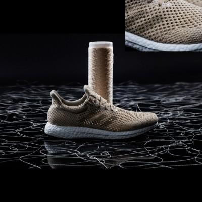 Futurecraft Biofabric Laufschuhe aus Biosteel-Fasern 2016 von adidas