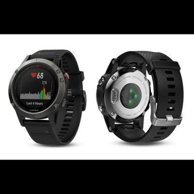 fenix 5 HF Multisport-Smartwatch mit Herzfrequenzmessung am Handgelenk 2017 von Garmin