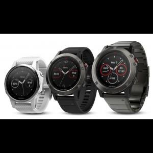 fenix 5, 5S, 5X HF Multisport-Smartwatch 2017 von Garmin